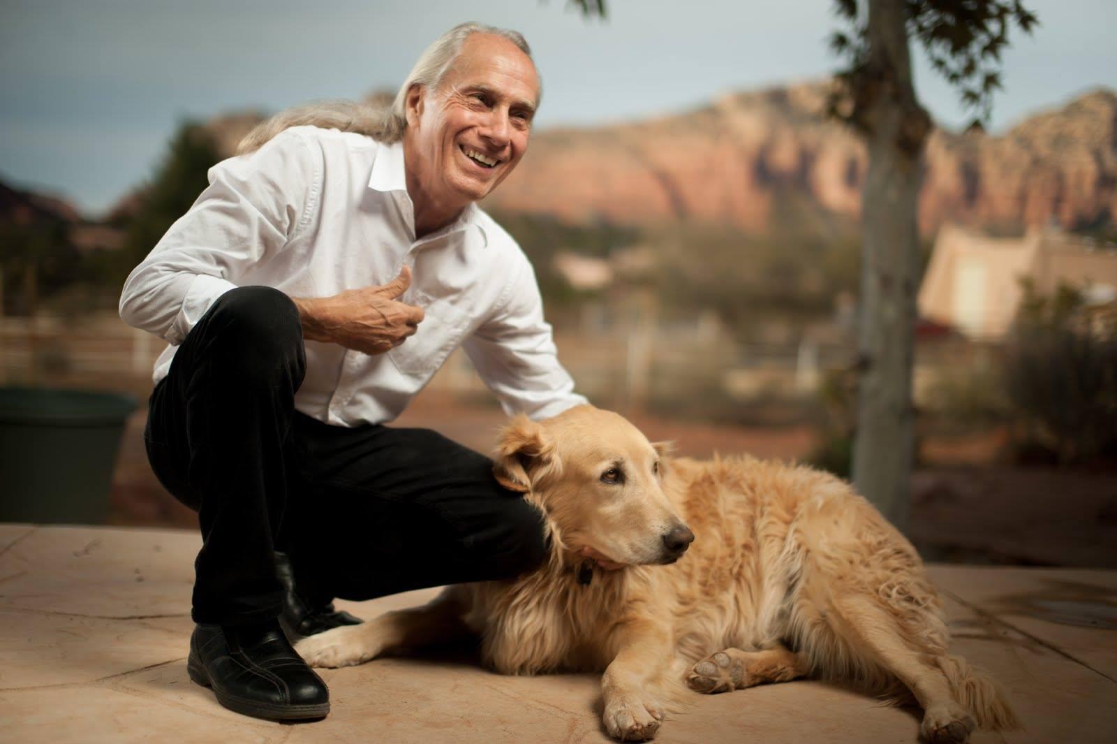 Dru&his dog