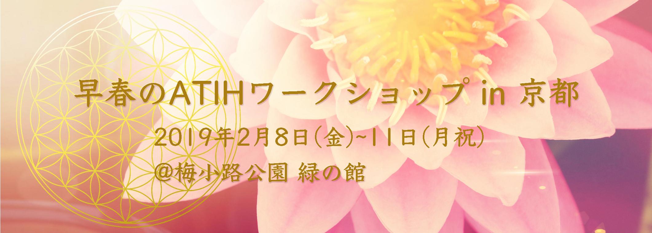 2019年早春のATIHワークショップ in 京都