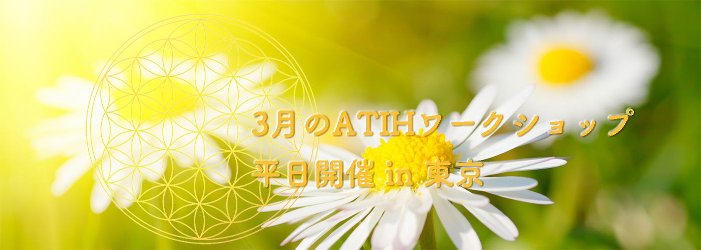2019年3月のATIHワークショップ平日開催 in 東京